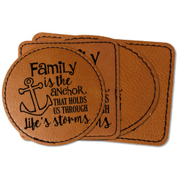 Family Quotes and Sayings Leatherette Patch