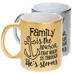 Family Quotes and Sayings Metallic Mug