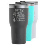 Family Quotes and Sayings RTIC Tumbler - 30 oz