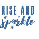 Glitter / Sparkle Quotes and Sayings Glitter Sticker Decal - Custom Sized (Personalized)