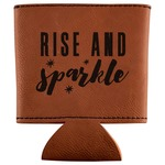 Glitter / Sparkle Quotes and Sayings Leatherette Can Sleeve (Personalized)