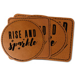 Glitter / Sparkle Quotes and Sayings Faux Leather Iron On Patch