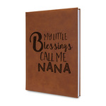 Grandparent Quotes and Sayings Leatherette Journal (Personalized)
