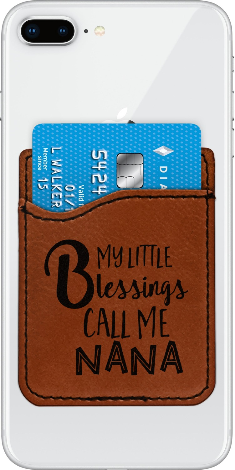 Grandparent Quotes And Sayings Leatherette Phone Wallet