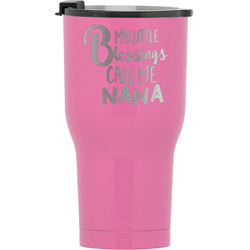 Grandparent Quotes and Sayings RTIC Tumbler - Pink (Personalized)