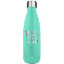 Grandparent Quotes and Sayings RTIC Bottle - Teal (Personalized)