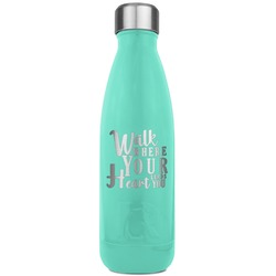 Heart Quotes and Sayings RTIC Bottle - Teal (Personalized)
