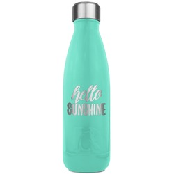 Hello Quotes and Sayings RTIC Bottle - Teal (Personalized)