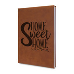 Home Quotes and Sayings Leatherette Journal (Personalized)