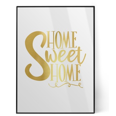 Home Quotes and Sayings Foil Print (Personalized)