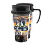 Gone Fishing Acrylic Travel Mugs (Personalized)