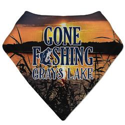 Gone Fishing Bandana Bib (Personalized)