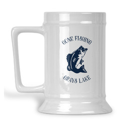 Gone Fishing Beer Stein (Personalized)