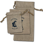 Gone Fishing Burlap Gift Bags (Personalized)