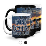 Gone Fishing Coffee Mugs (Personalized)