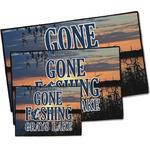 Gone Fishing Door Mat (Personalized)