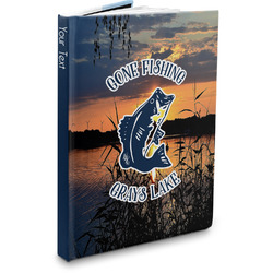 Gone Fishing Hardbound Journal (Personalized)