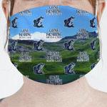Gone Fishing Face Mask Cover (Personalized)