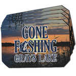 Gone Fishing Dining Table Mat - Octagon w/ Photo
