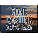 Gone Fishing Door Mat (Personalized)