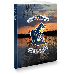 Gone Fishing Softbound Notebook (Personalized)