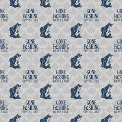 Gone Fishing Wrapping Paper (Personalized)