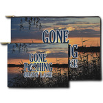 Gone Fishing Zipper Pouch (Personalized)