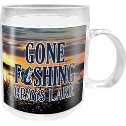 Gone Fishing Acrylic Kids Mug (Personalized)