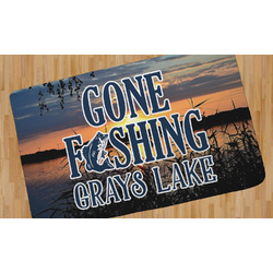 Gone Fishing Area Rug (Personalized)