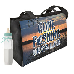 Gone Fishing Diaper Bag (Personalized)
