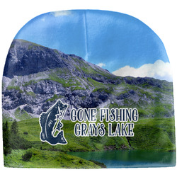 Gone Fishing Baby Hat (Beanie) (Personalized)