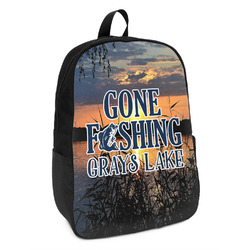 Gone Fishing Kids Backpack (Personalized)