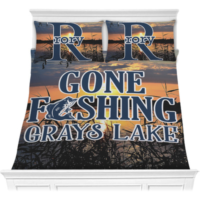 Gone Fishing Comforters (Personalized)