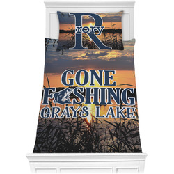 Gone Fishing Comforter Set - Twin (Personalized)