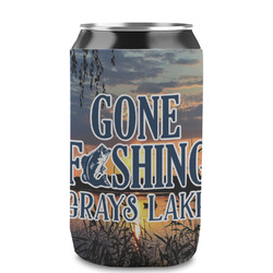 Gone Fishing Can Sleeve (12 oz) (Personalized)