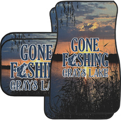 Gone Fishing Car Floor Mats (Personalized)