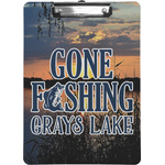 Gone Fishing Clipboard (Personalized)