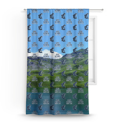 Gone Fishing Curtain (Personalized)