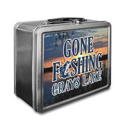 Gone Fishing Lunch Box (Personalized)