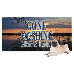 Gone Fishing Pet Towel (Personalized)