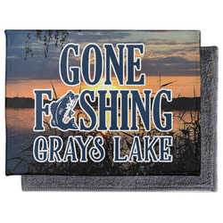 Gone Fishing Microfiber Screen Cleaner (Personalized)