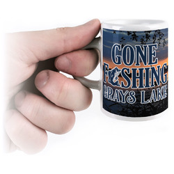 Gone Fishing Espresso Cups (Personalized)