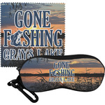 Gone Fishing Eyeglass Case & Cloth (Personalized)
