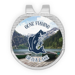 Gone Fishing Golf Ball Marker - Hat Clip