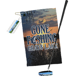 Gone Fishing Golf Towel Gift Set (Personalized)