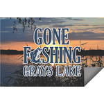 Gone Fishing Indoor / Outdoor Rug (Personalized)