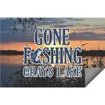 Gone Fishing Indoor / Outdoor Rug (Personalized)
