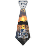 Gone Fishing Iron On Tie - 4 Sizes (Personalized)