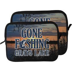 Gone Fishing Laptop Sleeve / Case (Personalized)