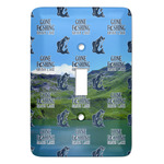 Gone Fishing Light Switch Covers (Personalized)